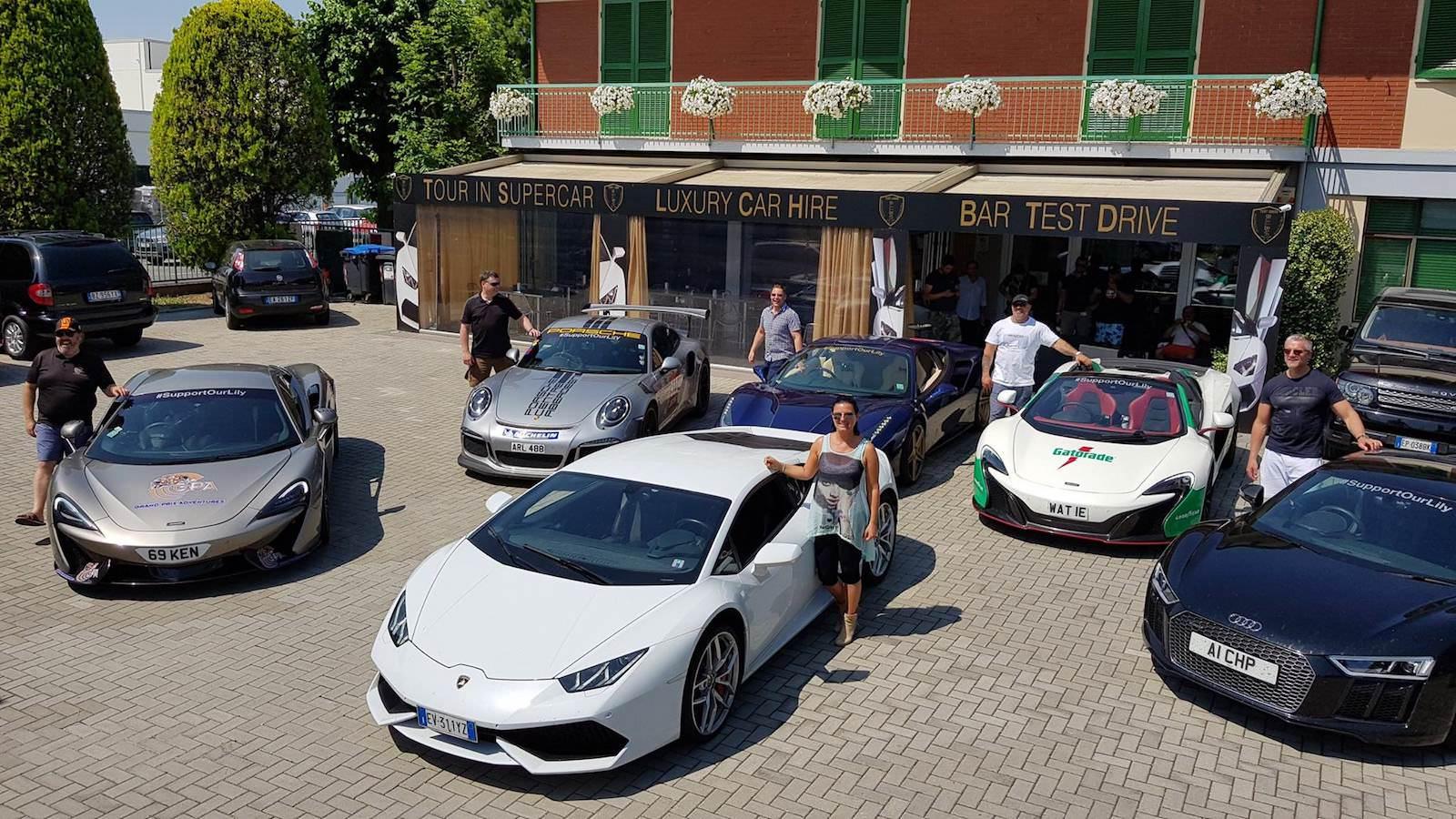 Lamborghini Bull Bar Event Bullbar